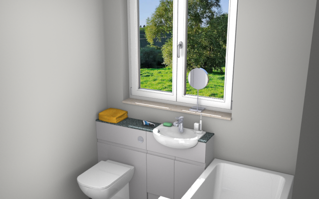 CAD Bathroom Design