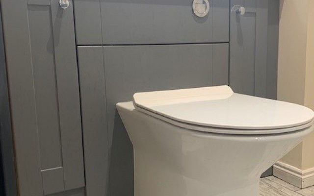 1B Rimless WC Pan and Soft Close Seat